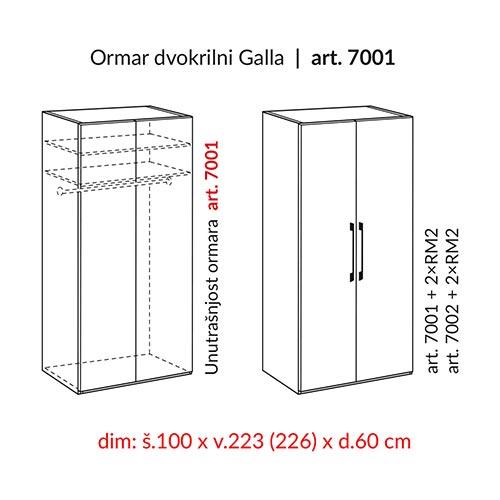 HESPO GALLA 7001-22