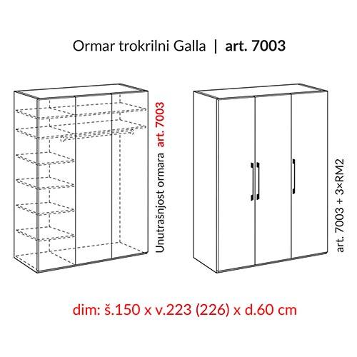 HESPO GALLA 7003-22
