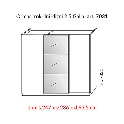 HESPO GALLA 7031-22