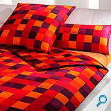 posteljina JOOP MOSAIK RED 140x200