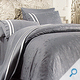 posteljina AGAVA NOLA GREY 140x200