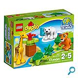Lego 10801 Mladunčad životinja