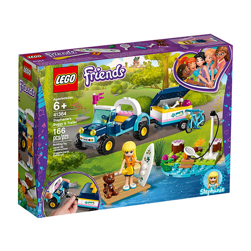 LEGO 41364 Stepkanien buggy s prikolicom