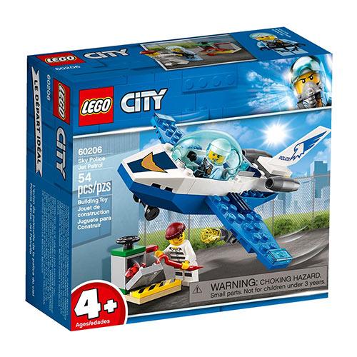 LEGO 60206 Mlazna patrola zračne policije