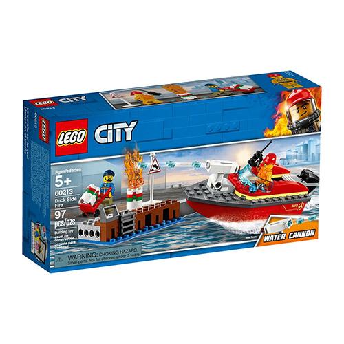 LEGO 60213 Požar na dokovima