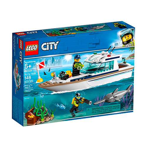 LEGO 60221 Ronilačka jahta